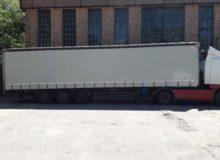 plandeka naciężarówce