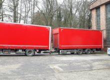 przyczepy samochodów ciężarowych