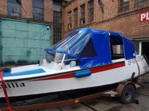 plandeka na łódź