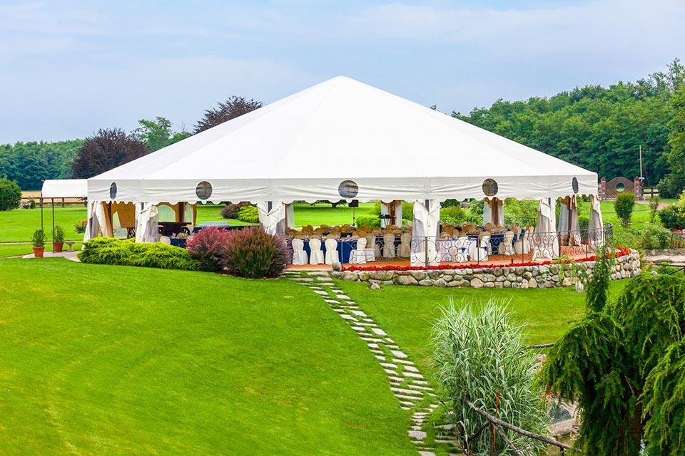 plandeka ogrodowa naślub wplenerze